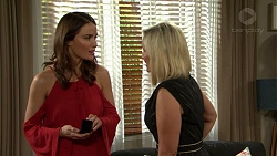 Elly Conway, Brooke Butler in Neighbours Episode 7491