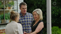 Xanthe Canning, Gary Canning, Brooke Butler in Neighbours Episode 7491