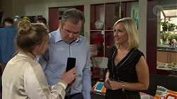Xanthe Canning, Karl Kennedy, Brooke Butler in Neighbours Episode 7491