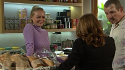 Xanthe Canning, Terese Willis, Toadie Rebecchi in Neighbours Episode 7492