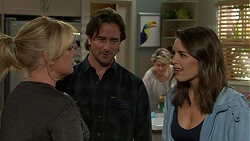 Lauren Turner, Brad Willis, Paige Novak in Neighbours Episode 7492