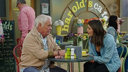 Lou Carpenter, Paige Smith in Neighbours Episode 7492