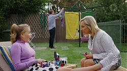 Xanthe Canning, Gary Canning, Brooke Butler in Neighbours Episode 7492