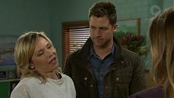 Steph Scully, Mark Brennan, Sonya Rebecchi in Neighbours Episode 7493