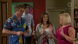Gary Canning, David Tanaka, Amy Williams, Sheila Canning in Neighbours Episode 7493