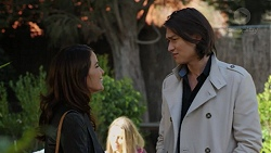 Elly Conway, Leo Tanaka in Neighbours Episode 7493