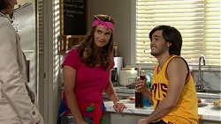 Amy Williams, David Tanaka in Neighbours Episode 7493
