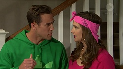 Aaron Brennan, Amy Williams in Neighbours Episode 7493