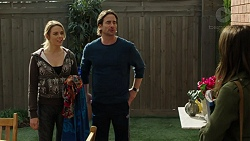 Simone Bader, Brad Willis, Paige Smith in Neighbours Episode 7494