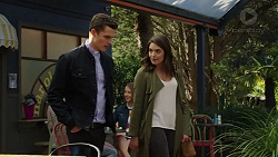 Jack Callaghan, Paige Novak in Neighbours Episode 7494