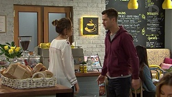 Sonya Mitchell, Mark Brennan in Neighbours Episode 7494