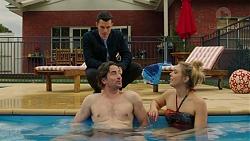 Jack Callahan, Brad Willis, Simone Bader in Neighbours Episode 7494