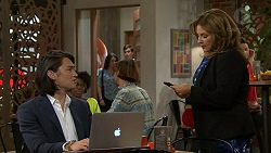 Leo Tanaka, Terese Willis in Neighbours Episode 7494