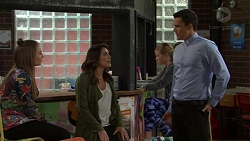 Piper Willis, Paige Smith, Jack Callahan in Neighbours Episode 7495
