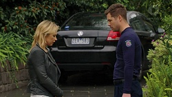 Steph Scully, Mark Brennan in Neighbours Episode 7495