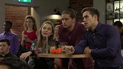 Piper Willis, Tyler Brennan, Aaron Brennan in Neighbours Episode 7495
