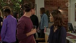 Tyler Brennan, Rider Ward, Elly Conway in Neighbours Episode 7495
