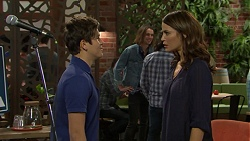Angus Beaumont-Hannay, Rider Ward, Elly Conway in Neighbours Episode 7495