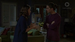 Elly Conway, Tyler Brennan in Neighbours Episode 7496