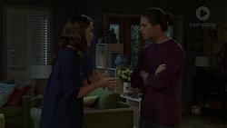 Elly Conway, Tyler Brennan in Neighbours Episode 7496