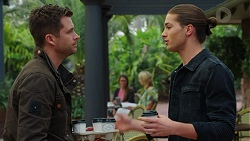 Mark Brennan, Tyler Brennan in Neighbours Episode 7496