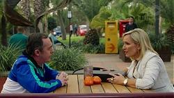 Mack Sweetin, Brooke Butler, Ben Kirk in Neighbours Episode 7496