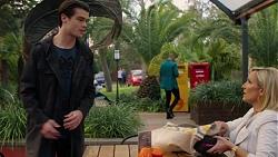 Ben Kirk, Brooke Butler in Neighbours Episode 7496