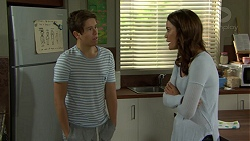 Angus Beaumont-Hannay, Elly Conway in Neighbours Episode 7496