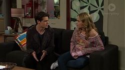 Ben Kirk, Xanthe Canning in Neighbours Episode 7496
