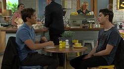 Angus Beaumont-Hannay, Ben Kirk in Neighbours Episode 7497