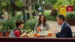 Jimmy Williams, Amy Williams, Paul Robinson in Neighbours Episode 7497
