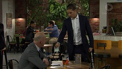 Tim Collins, Tyler Brennan in Neighbours Episode 7497