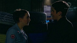 Piper Willis, Angus Beaumont-Hannay in Neighbours Episode 7497
