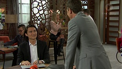 Leo Tanaka, Paul Robinson in Neighbours Episode 7497