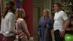 Elly Conway, Xanthe Canning, Brooke Butler, Gary Canning in Neighbours Episode 7498
