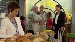 Susan Kennedy, Lou Carpenter, Lauren Turner, Chantrea Banks in Neighbours Episode 7498