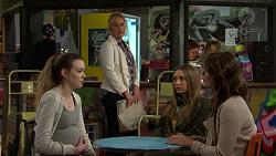Sara Moran, Lauren Turner, Piper Willis, Paige Smith in Neighbours Episode 7499