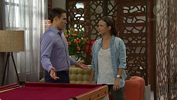 Aaron Brennan, Amy Williams in Neighbours Episode 7499