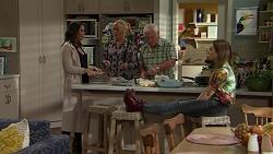 Paige Smith, Lauren Turner, Lou Carpenter, Piper Willis in Neighbours Episode 7499