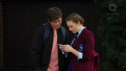 Angus Beaumont-Hannay, Piper Willis in Neighbours Episode 7500