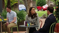 Elly Conway, Aaron Brennan in Neighbours Episode 7500