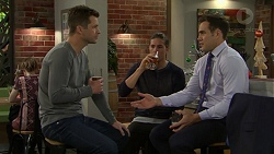 Mark Brennan, Tyler Brennan, Aaron Brennan in Neighbours Episode 7500