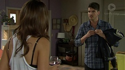 Elly Conway, Derek Meeps in Neighbours Episode 7500