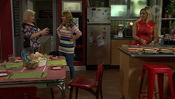 Sheila Canning, Xanthe Canning, Brooke Butler in Neighbours Episode 7501