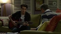 Ben Kirk, Karl Kennedy in Neighbours Episode 7501