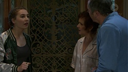 Piper Willis, Susan Kennedy, Karl Kennedy in Neighbours Episode 7501