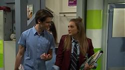 Ben Kirk, Piper Willis in Neighbours Episode 7502