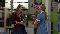 Piper Willis, Xanthe Canning in Neighbours Episode 7502