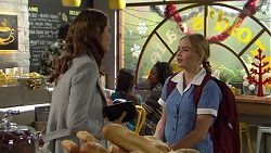 Elly Conway, Xanthe Canning in Neighbours Episode 7502
