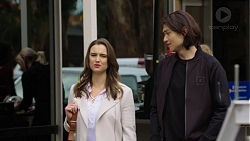 Amy Williams, Leo Tanaka in Neighbours Episode 7503